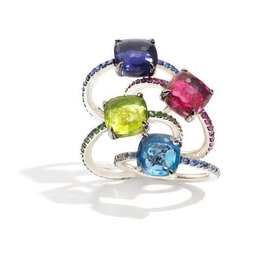 Pomellato - Baby Rings #WhiteGold #Ring