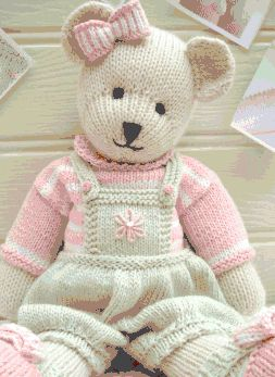 Making this Teddy Bear now ~ Love it !