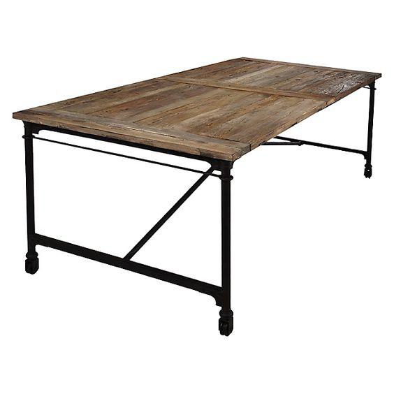 Mesa comedor rústica Cadee Mica-Falabella.com