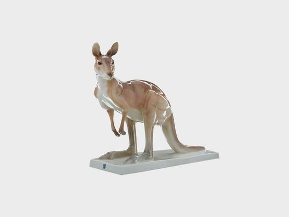 Känguruh   Porzellan Manufaktur Nymphenburg