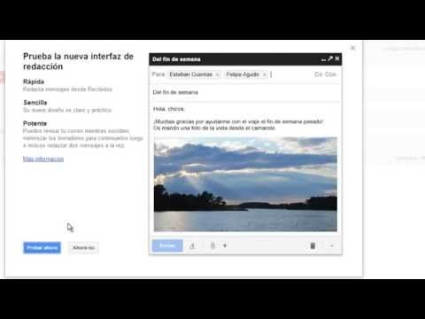Gmail Como Enviar Un Correo Electronico Te Invito A Aprehender Youtube Correo Electronico Enviar Electrónica