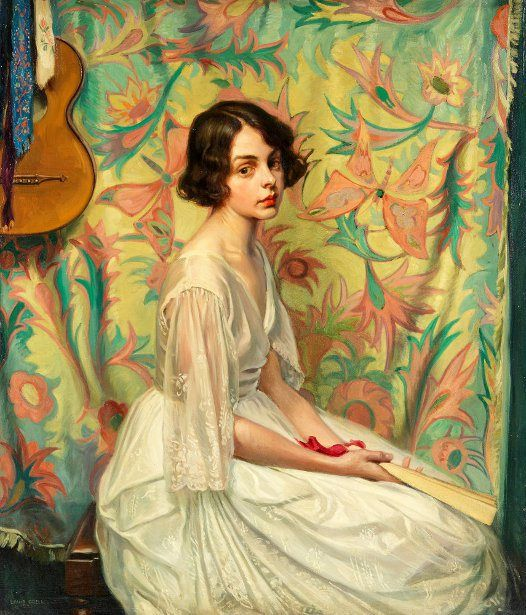 Fredericka (The Artist's Wife)