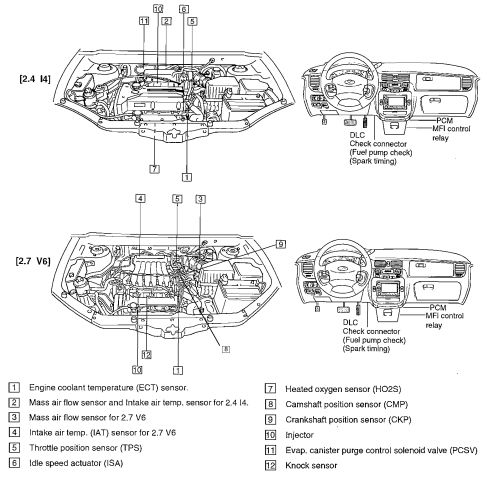 2013 hyundai engine diagram