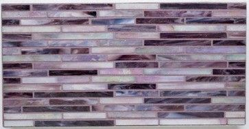 Purple haze eclectic kitchen and tile mosaics on pinterest - Purple kitchen wall tiles ...