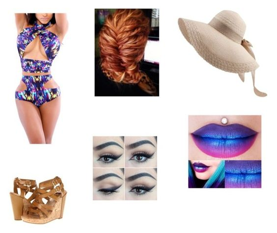 """""""summer time"""" by starlightangel41 ❤ liked on Polyvore"""