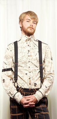 Lip Service Step in Time - Essentials Mens Suspenders Steampunk - Buy New: $25.00