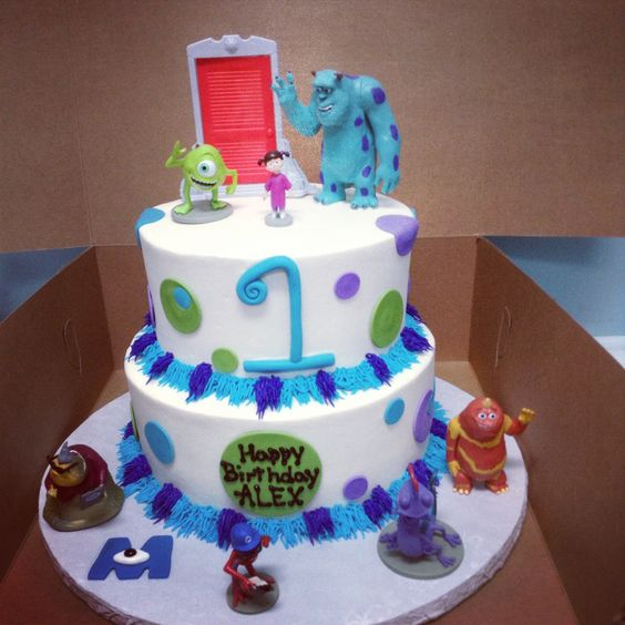 Monster cakes, Monsters and Monster inc cakes on Pinterest
