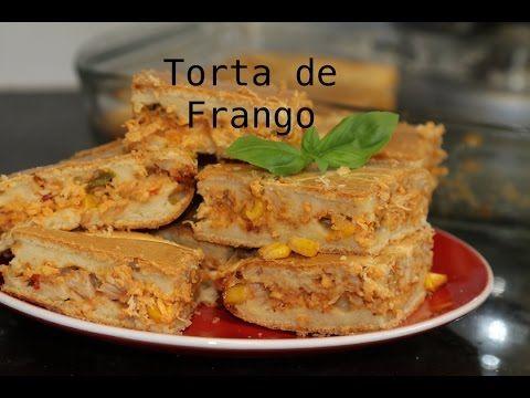 TORTA DE FRANGO FIT DE LIQUIDIFICADOR - YouTube