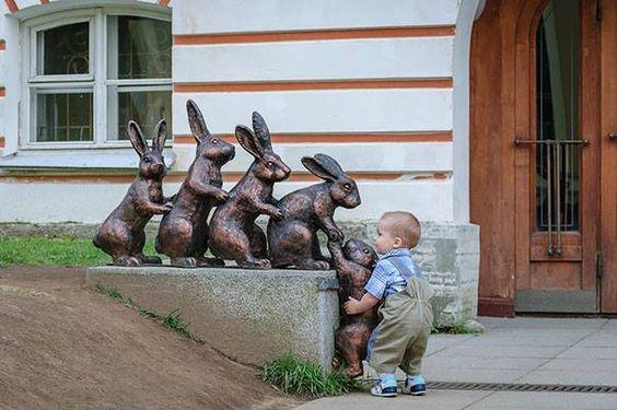 Lending a hand...