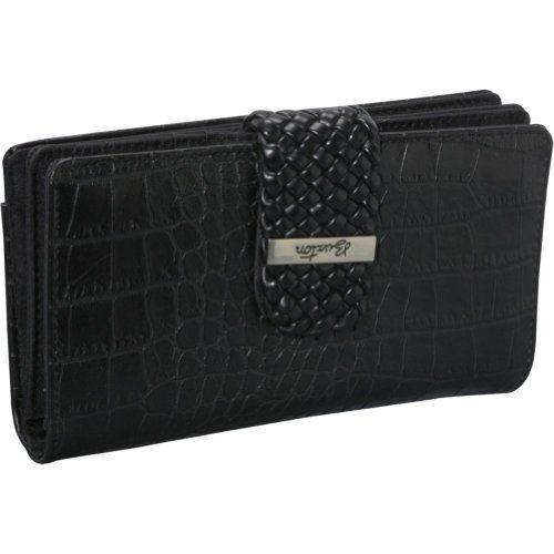 Buxton Croco Super Wallet