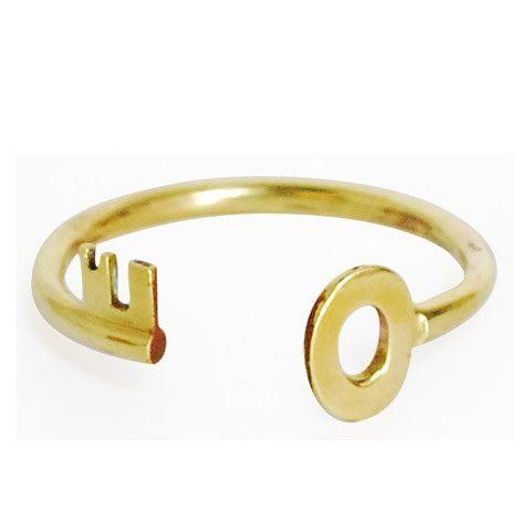 Bivouac Ann Arbor   Monserat De Lucca Key Bracelet   Fabulous vintage-inspired brass piece.