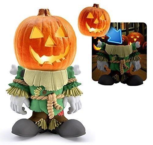 halloween pumpkin decoration indoor outdoor pumpkin people scarecrow statue 3bglobal - Outdoor Pumpkin Decorations