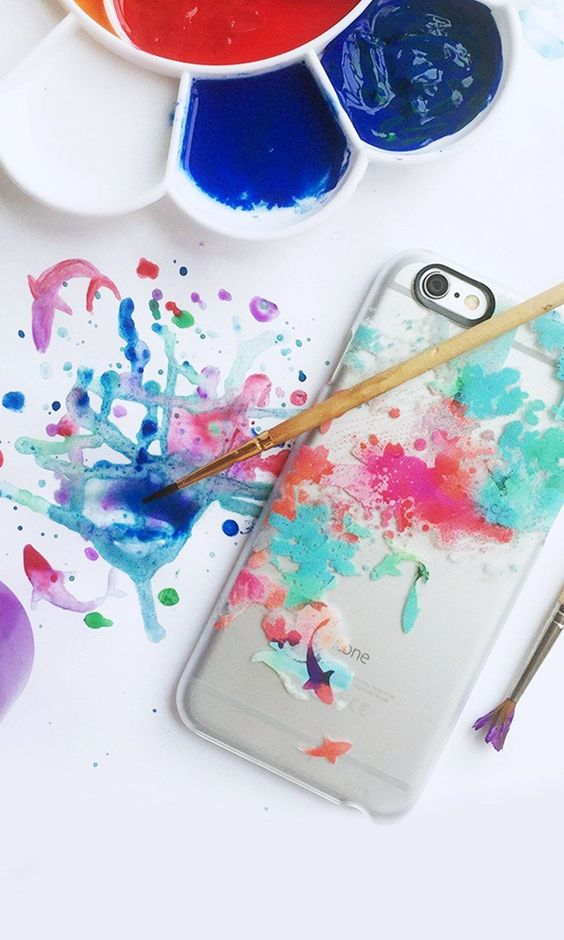 Watercolor Pond Cases, iPhone and Phones