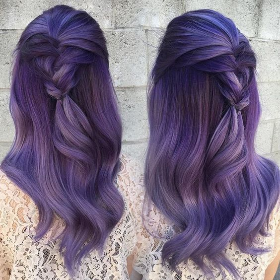 What Unnatural Hair Color Is For You Unnatural Hair Color Long Hair Tips Hair Color