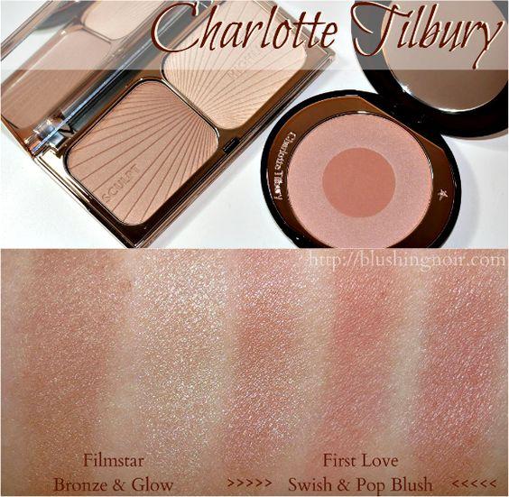 Charlotte Tilbury Filmstar Bronze Amp Glow First Love Cheek