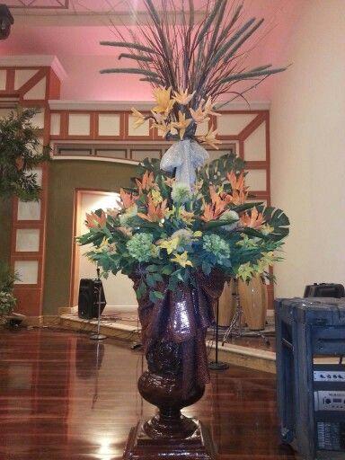 Decoración  tradicional en Casa Apostólica  Mar de Galilea