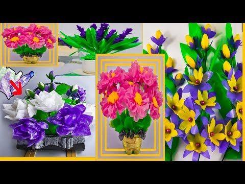 Kompilasi Cara Membuat Bunga Dari Plastik Kresek Dan Ide Kreatif