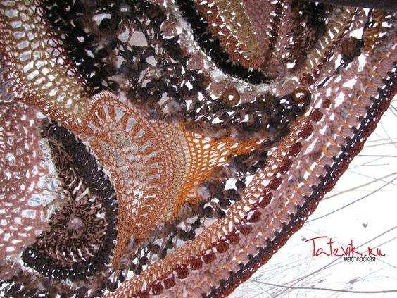 Красочные шали от мастерской Tatevik