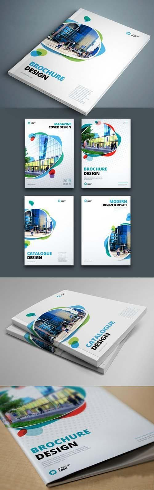 Business Brochure Cover Layouts