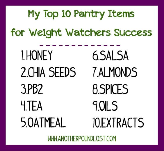 weight watchers success pantry and closer on pinterest