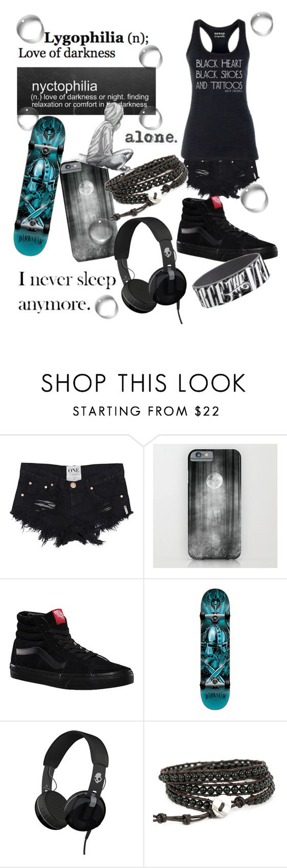 """""""Untitled #70"""" by musiclover135 on Polyvore featuring Vans, Darkstar and Skullcandy"""