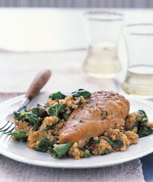 Chicken With Bulgur Pilaf Recipe