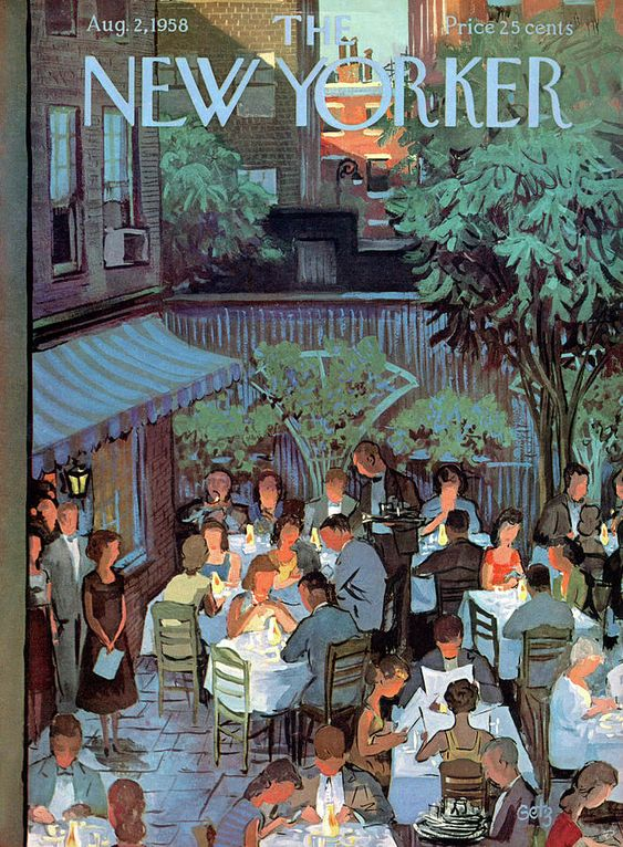 New Yorker August 2nd, 1958 by Arthur Getz