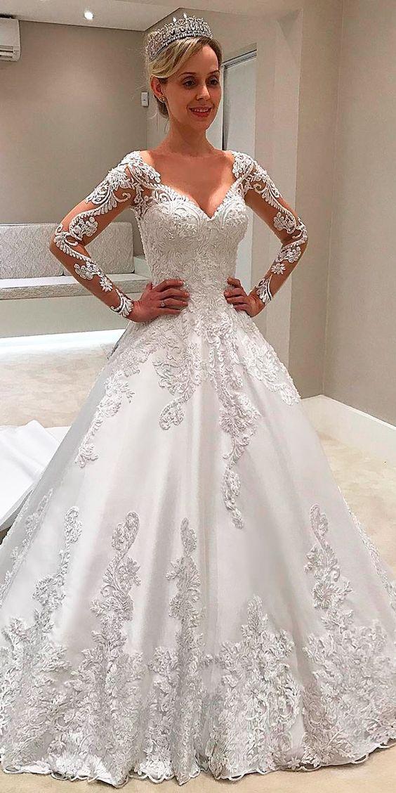 Top 60 Most Popular Wedding Dresses 2019 In 2020 Popular Wedding