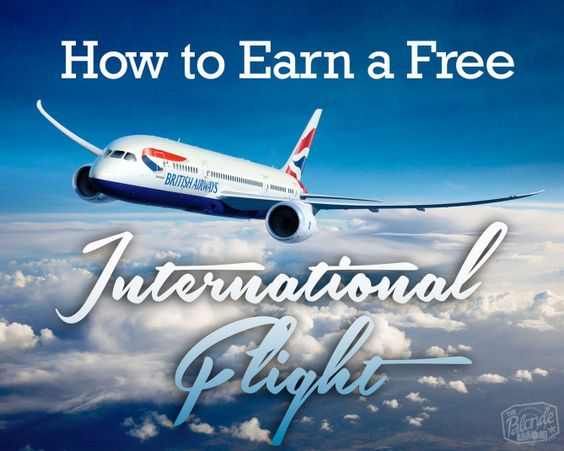 How to Earn a Free International Flight - The Blonde Abroad