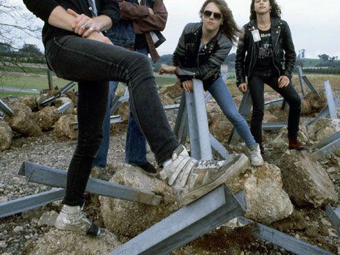 Fotos promocionales de Metallica, de la era Master Of Puppets, sacadas por el legendario Ross Halfin!. Excelentes!....