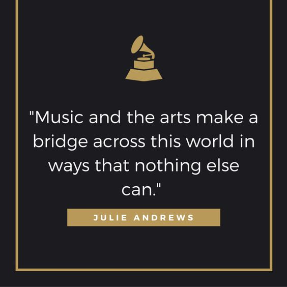 Julie Andrews on the far-reaching impact of the arts.: