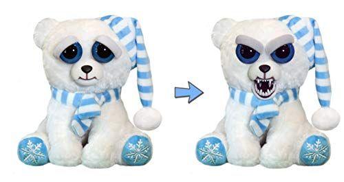 Feisty Pets Snowflake Polar Bear Frankie Frostbite Animated Animals Plush Stuffed Animals Pets