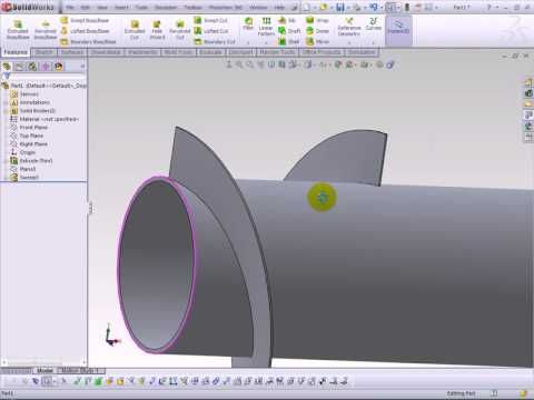 Solidworks Screw Conveyor To Sheet Metal Solidworks Tutorial Solidworks Our Solar System