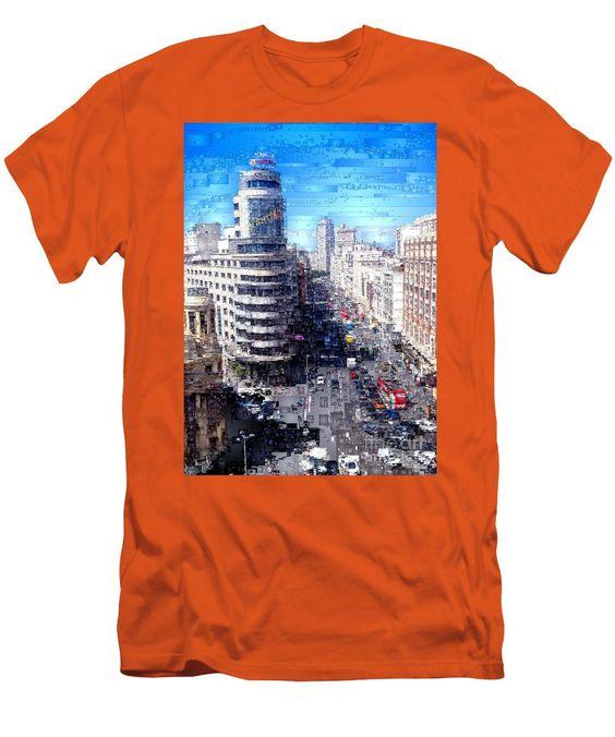 Men's T-Shirt (Slim Fit) - Madrid - La Gran Via