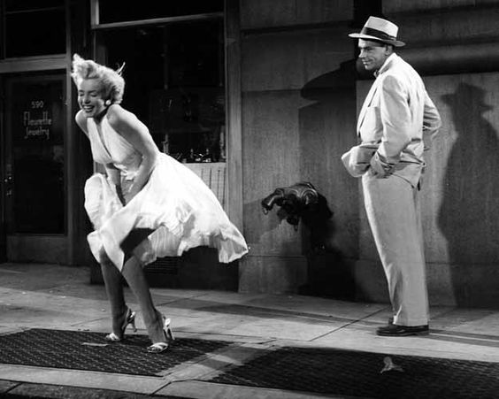 Visit #NewYork and re-enact that famous #MarilynMonroe scene in #TheSevenYearItch - You know you want to!