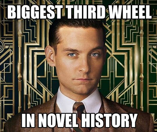 a character analysis of nick carraway in the novel the great gatsby by f scott fitzgerald The great gatsby summary - our narrator, nick carraway, begins the book by giving us some advice of his great gatsby, but it tells you a lot: fitzgerald is no feminist, and neither, apparently, is nick writing style: it seems to us that f scott fitzgerald loves winding sentences that begin with one idea, person, or.