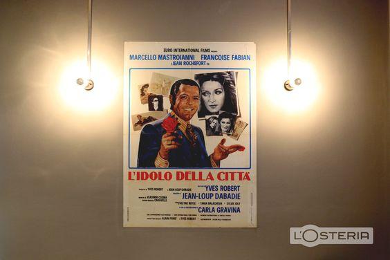 L'Osteria Decoration I Old italian movie poster