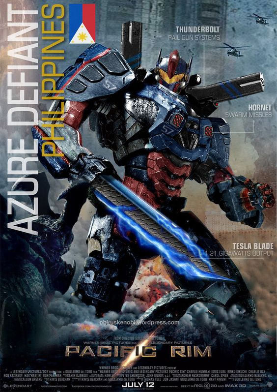 PACIFIC RIM JAEGER Azure Defiant: Philippines 2.0 by ... Pacific Rim Robots Names