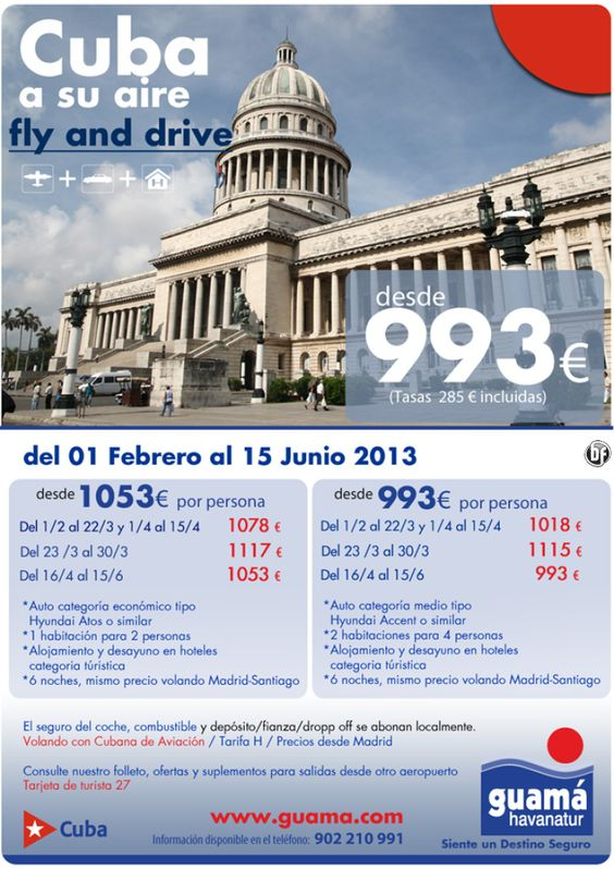 Cuba a su aire - Fly and drive - http://zocotours.com/cuba-a-su-aire-fly-and-drive-8/