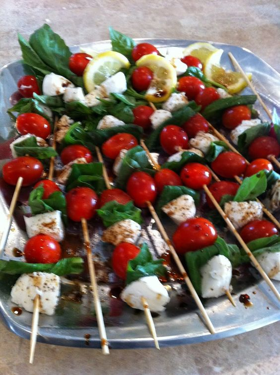 Italian themed dinner party theme decor church for Appetizer decoration