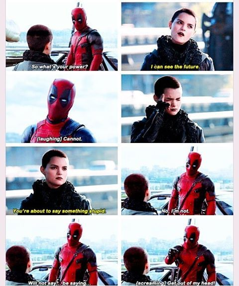 Deadpool & Negasonic Teenage Warhead deleted scene