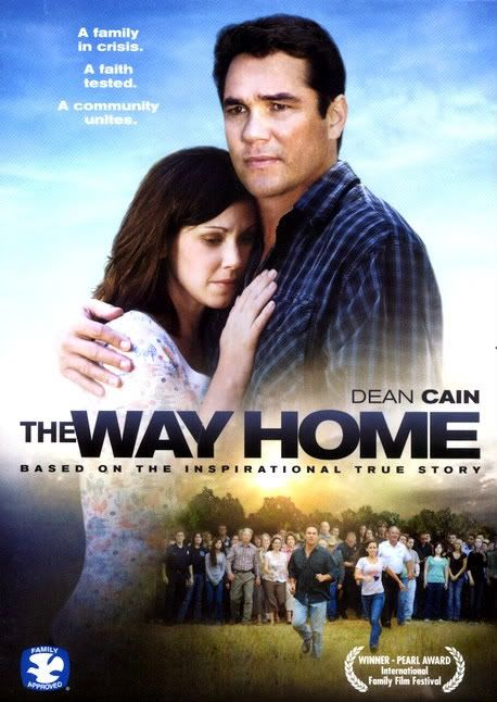 The Way Home - Christian Movie on DVD with Dean Cain. A husband and father torn between the demands of his job and family. Asked by his wife to watch their two-year-old son Joe for a few minutes, he becomes distracted by work. When he returns, Joe is gone. http://www.christianfilmdatabase.com/review/the-way-home/