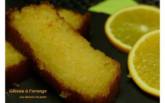 Le gâteau à l'orange, c'est un peu ma madeleine de Proust ☺ Il a été le tout premier gâteau que j'ai réalisé lorsque j'étais petite fille. Il est super simple à faire car il est sur une base de quatre quart... mais c'est ce petit sirop à l'orange qui...: