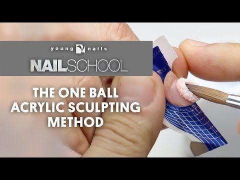 Youtube Diy Acrylic Nails Young Nails School Nails