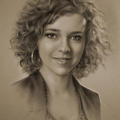 Pencil Sketches by Polish artist Krzysztof Lukasiewicz, aka krzysztof20d. Krzysztof created a series of impressive portraits of celebrities....