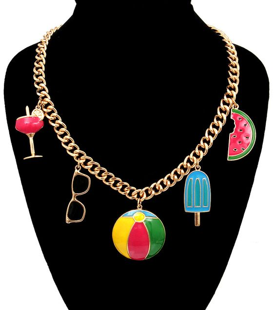 Glitz-N-Glorie - Summertime Charm Necklace, $20.00 (http://www.glitznglorie.com/summertime-charm-necklace/)