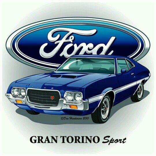 Ford grand torino sport art