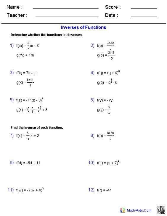 Worksheet Pre Calc Worksheets worksheets on pinterest inverse functions and logarithms worksheets