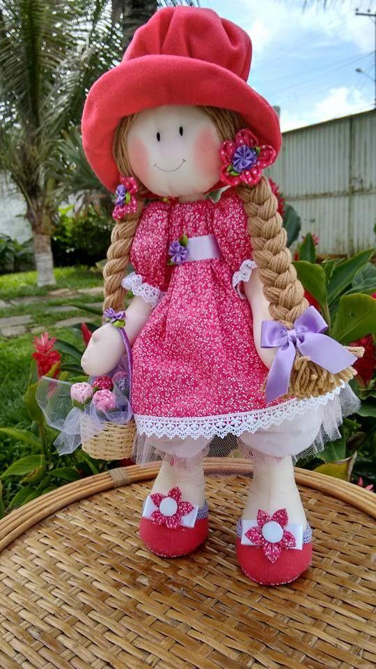 Boneca Ritinha Florista
