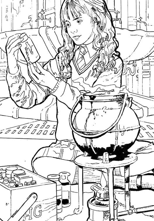 Harry Potter Hermoine Coloring Page In 2020 Harry Potter Coloring Book Harry Potter Coloring Pages Harry Potter Colors